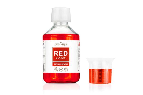 ORTHOSEPT RED Classic Mouthwash